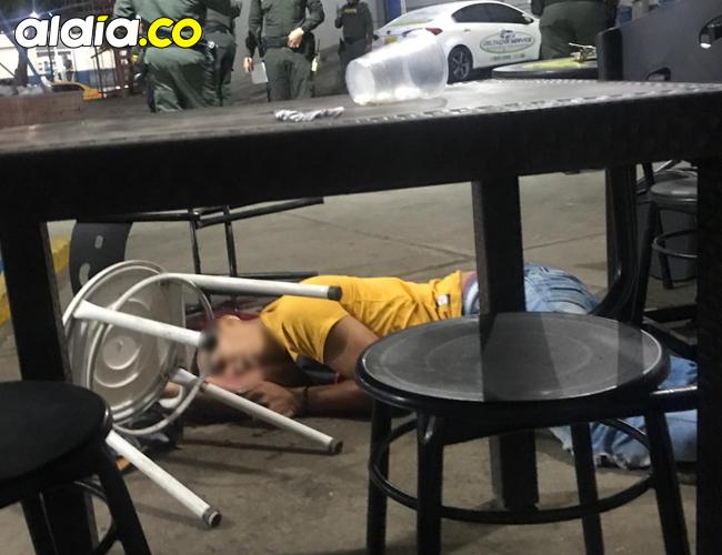 Davis Enrique Benta Macea fue asesinado de varios disparos de arma de fuego, en un atentado criminal ocurrido anoche en Santa Marta.