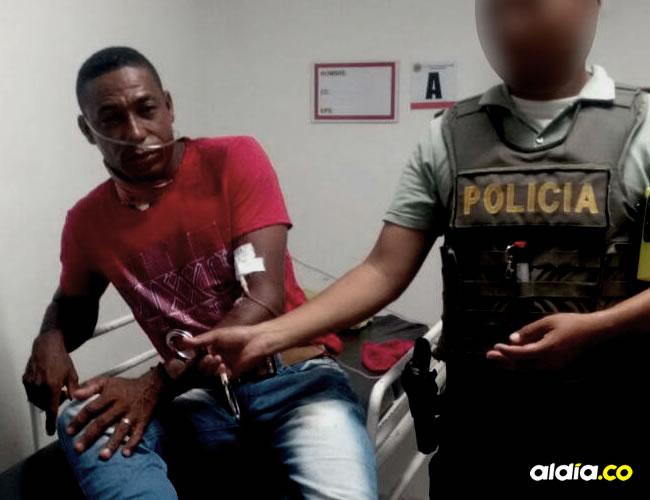 José Arnés Hernández Suárez, capturado por la Policía | Cortesía