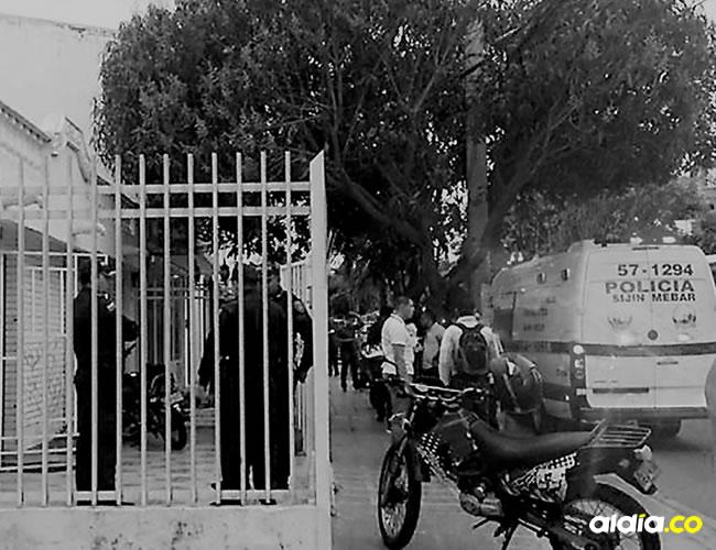 El hecho sucedió en la calle 76 No. 67- 64, barrio La Concepción, norte de Barranquilla.   ALDÍA