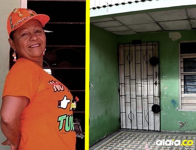 Mabilia Coromoto Donado Quiroz en la terraza de su casa, donde la asesinaron en su casa   Al Día