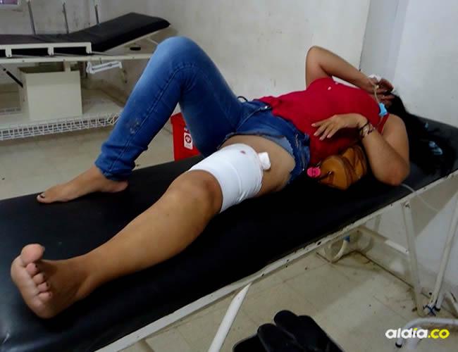 Los ladrones hicieron varios disparos, y uno de ellos impactó en la pierna izquierda a Agueda Rafael Barros, de 49 años | Al Día