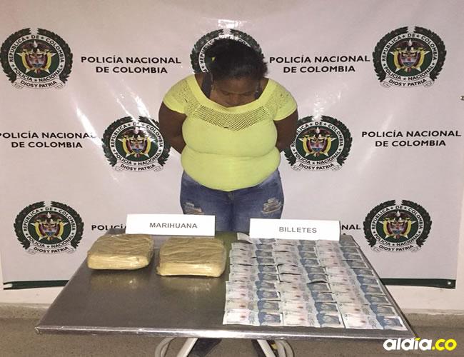 Isabel García quedó disposición de la Fiscalía por el delito de tráfico de estupefacientes. | Al Día
