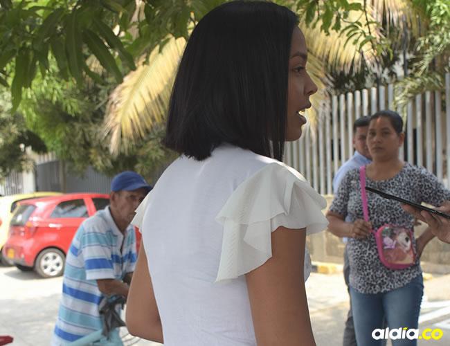 Johandris Sandoval Vergara asegura que no le robaron ninguno de sus objetos personales. | Al Día