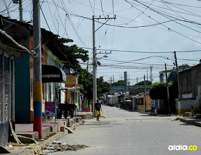 En esta calle del barrio Rebolo fue asesinado Nicolás Anaya García | AL DÍA