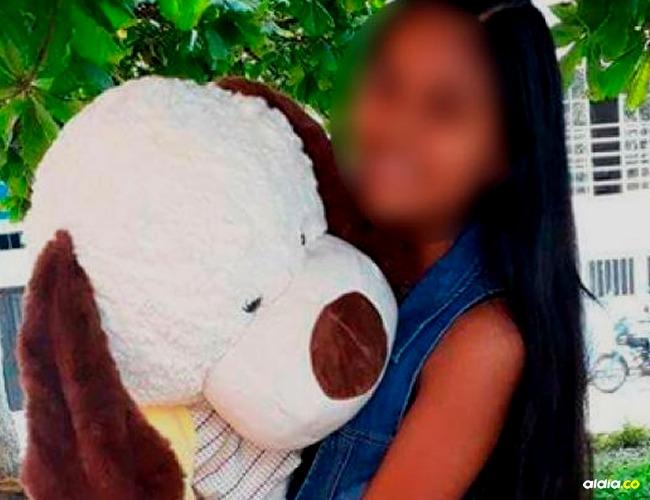 Jenedy Arredondo, menor agredida I Cortesía: Noticias Caracol