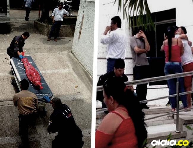 Momentos en que los miembros del CTI de la Fiscalía retiran el cuerpo del niño de la Clínica de la Costa | Al Día