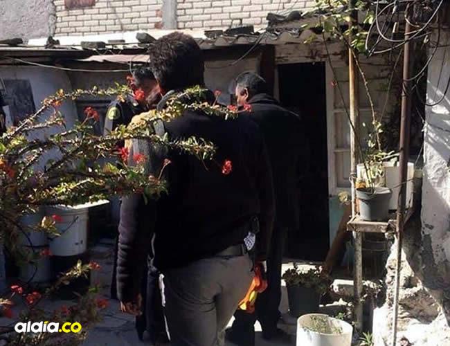 Las autoridades llegaron a la vivienda y encontraron a Juana y a Bartolo en una de las habitaciones   El Universal de México