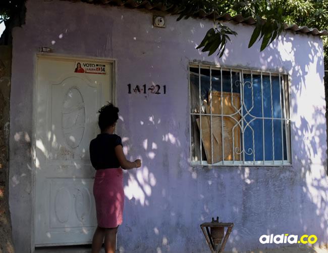 En esta casa, en lo último del barrio Ciudad Paraíso, Soledad, un sector olvidado por la Administración Municipal, ocurrió el atentado mortal. | AL DÍA