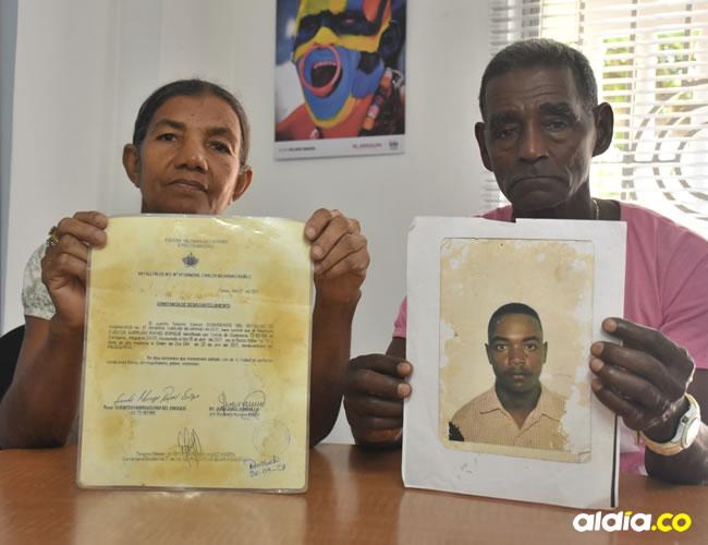El occiso conArminda Marrugo y Rafael Fuentes son oriundos de Marialabaja, pero residen en Cartagena desde hace más de 20 años. | Al Día