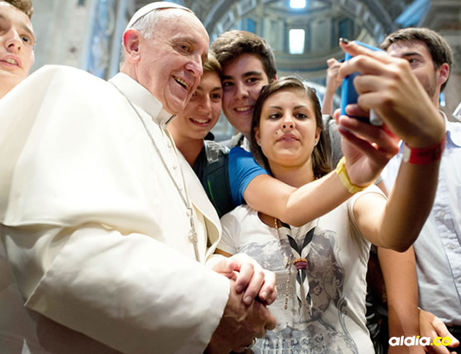 Francisco ha dedicado gran parte de sus mensajes a los jóvenes.   Al Día