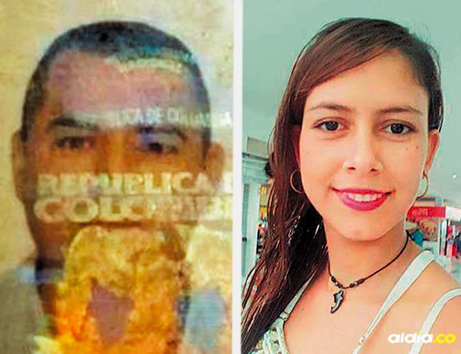 Eduardo Rivera Tamayo y Diana Carolina Álvarez Castro, pasajeros que iban en el taxi, de 39 y 24 años | Al Día