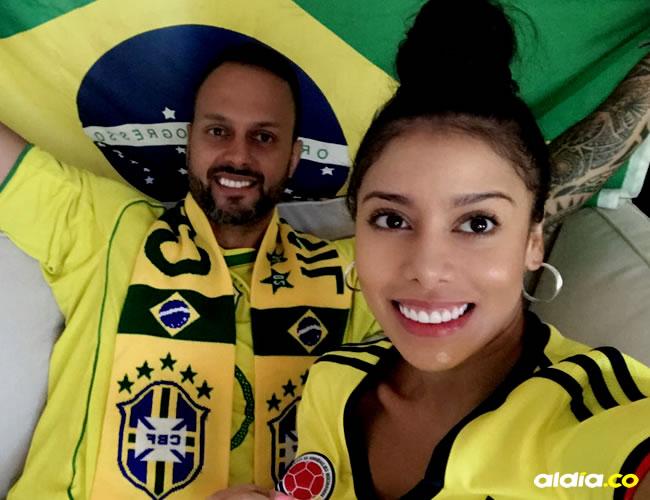 Kleber, hincha del Vasco Da Gama, asegura que Brasil ganará con goles de Neymar, mientras que Sonia apuesta por un triunfo tricolor con gol de Falcao   Al Día