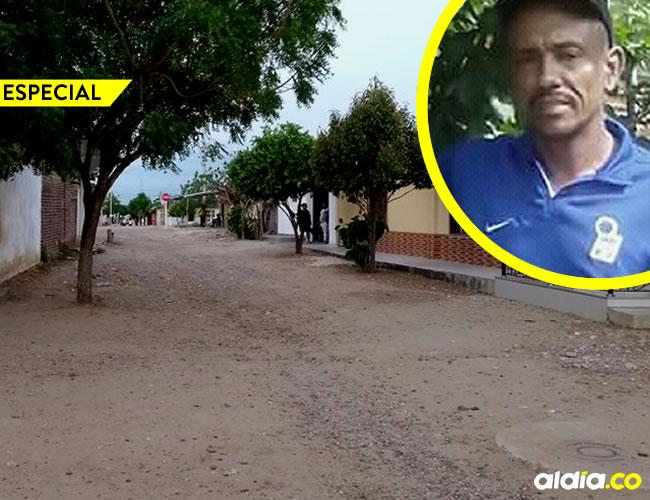 Orlando Rafael Domínguez Coronado, 44 años, fue asesinado por su hijo, Abel Javier Castellar Echenique   AL DÍA