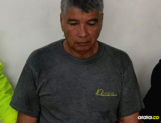 Ovet David Viloria Araque, capturado por agentes de la Sijín y Fiscalía. | AL DÍA