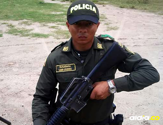 Samir Oquendo Luna llevaba 5 años en la Policía | Al Día