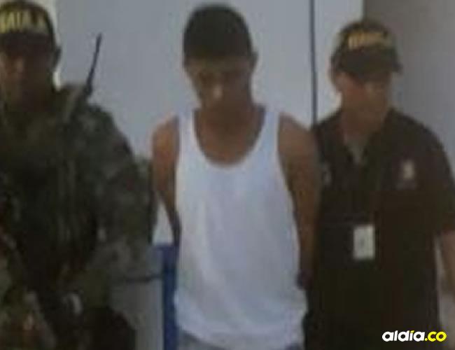 Jesús Alberto Ochoa Rangel, detenido   CTI