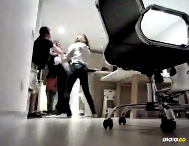 Imagen de la pelea I Captura video
