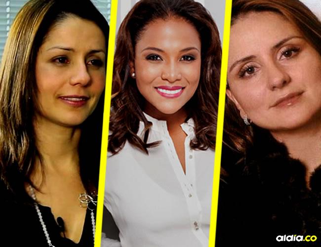 Claudia Morales, Mabel Lara y Paola Ochoa. | Internet