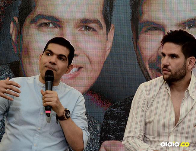 Peter Manjarrés y Juancho De la Espriella en la presentación de su nuevo trabajo discográfico | Al Día