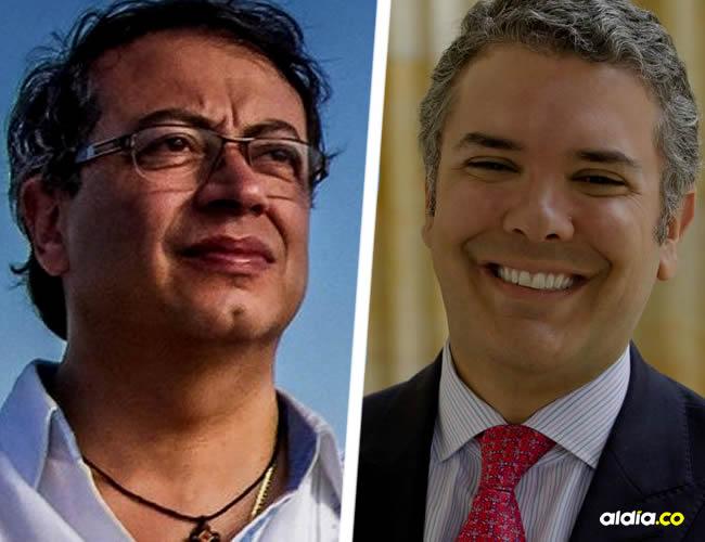 Gustavo Petro e Iván Duque | Internet.