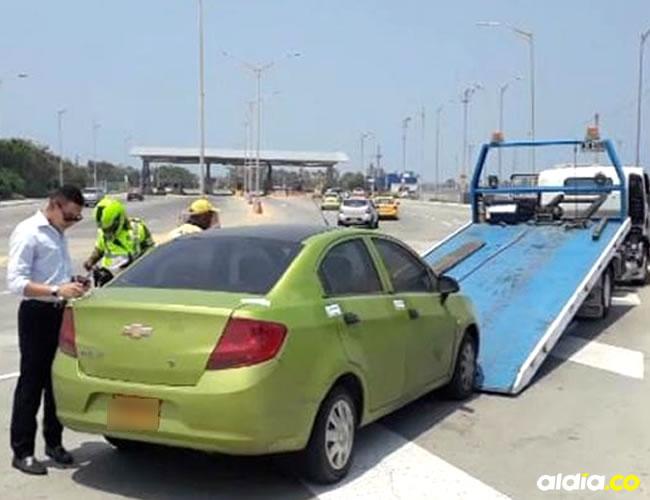 Zabaleta conducía un Chevrolet Sail. | Al Día