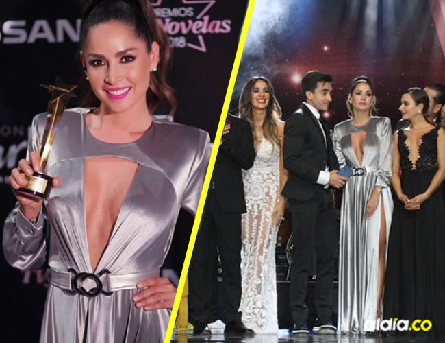 El elenco de la serie 'Sin senos sí hay paraíso' obtuvo 11, de las 18 estatuillas que entregaron este año los Premios.