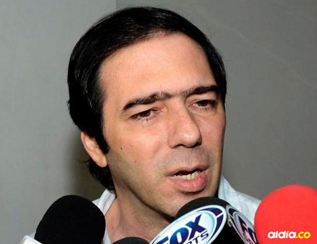 El Presidente del Junior, Antonio Char.