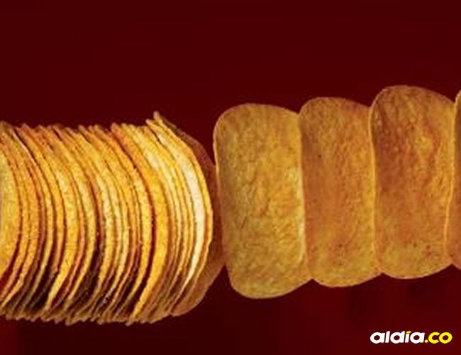 El porcentaje de papas que contienen las Pringles es del 40% el resto es almidón, harina y agua | Cortesía