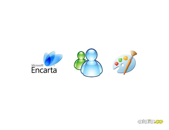 Encarta, MSN y  Paint fueron algunos de estos programas | ALDÍA.CO