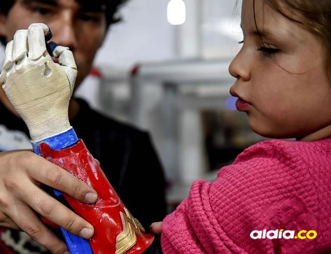 Cuatro colombianos están detrás de este proyecto | Raul Arboleda // AFP