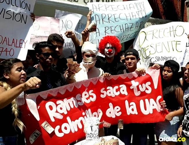 Estudiantes se unieron a la manifestaciones | Instagram 'UAC Sin Miedo'