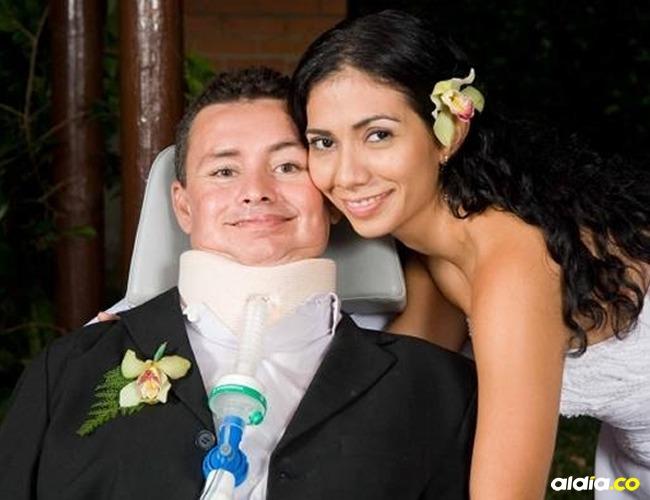 Raúl Ordoñez y su esposa Diana Corrales I Cortesía: El Tiempo