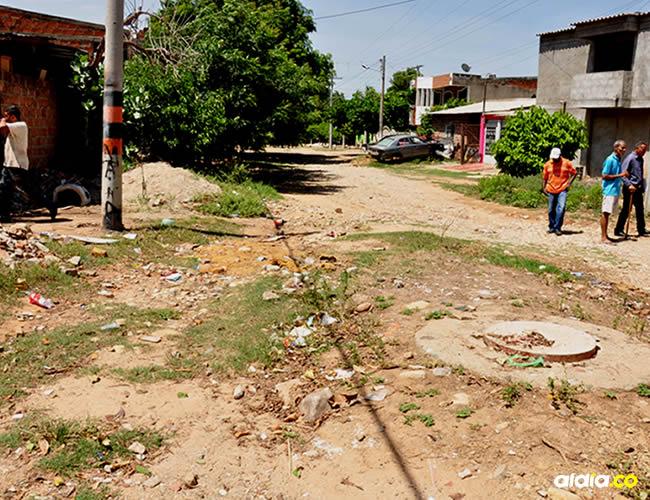 El hecho se registró en la madrugada del domingo, en el barrio José Antonio Galán de Riohacha | Archivo