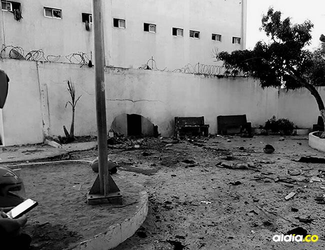La explosión causó la muerte de tres uniformados en el sitio y dejó decenas de heridos regados en el suelo, quienes de inmediato fueron auxiliados por sus compañeros | Retaliación