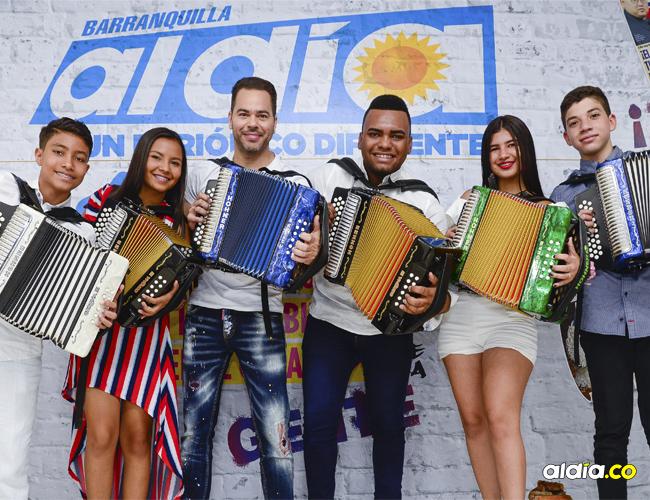 De izquierda a derecha: Sergio L. Moreno, Rey Juvenil; Alexandra Gómez, reina categoría menor; Alfonso Monsalvo, Rey profesional; José Guerra, Rey Aficionado; Loraine Lara, reina categoría mayor y José Villazón, Rey Infantil.