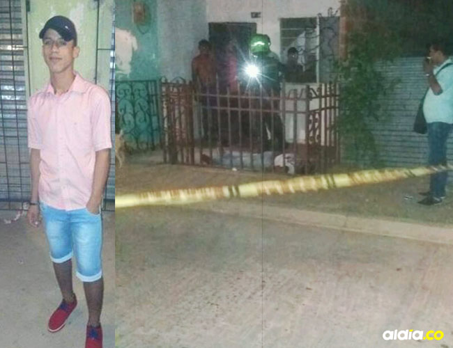 En la terraza de una vivienda ubicada en el barrio Villa Jardín quedó tendido el cuerpo de Ángel de Jesús Mora Noguera.