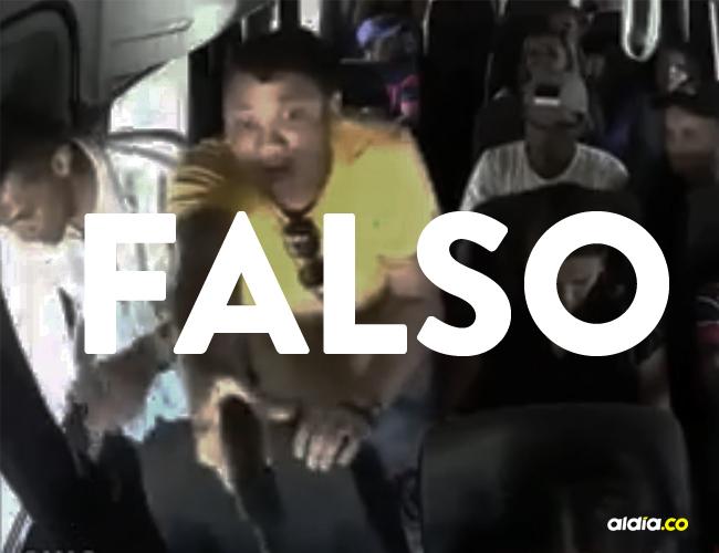 Por WhatsApp está circulando un video donde supuestamente sucede un atraco en Barranquilla | ALDÍA.CO