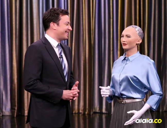 A Sophia le entregaron la ciudadanía de Arabia Saudita en el marco de 'Future Investment Initiative'   Hanson Robotics