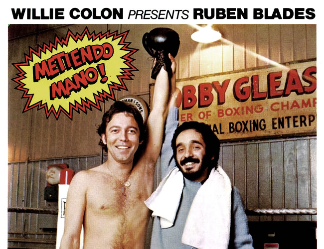 Rubén Blades (izq) y Willie Colón protagonizaron 'The Last Fight' (1982) | Archivo