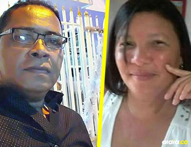Damián Julio Quintana se suicidó, mientras que su exmujer Danilsa de Jesús Niño Leal, esta herida de un balazo.   Al Día
