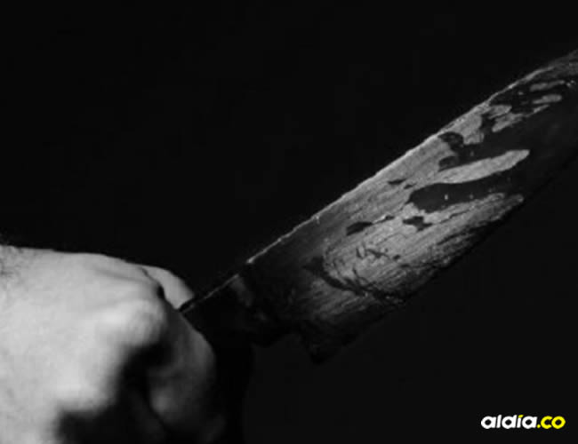 La víctima recibió un machetazo a la altura del cuello, a pesar de ser llevado al hospital, murió.