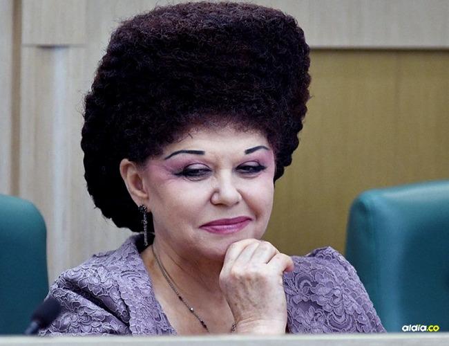 Valentina Petrenko senadora rusa I Internet