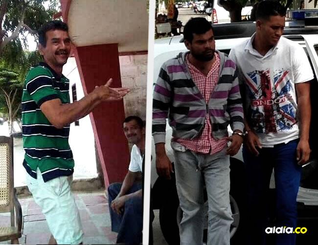 Luis Berrío y el hombre de apellido Polo fueron llevados en la mañana de ayer a Medicina Legal.