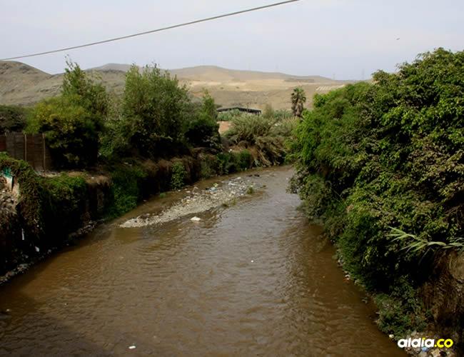 Río Chillón, en Perú | Andina