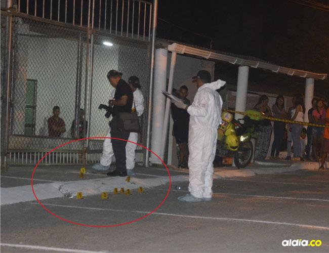 La noche de celebración del Día de las Velitas en Chochó se opacó con este doblen crimen que aún conmociona a todo el corregimiento.