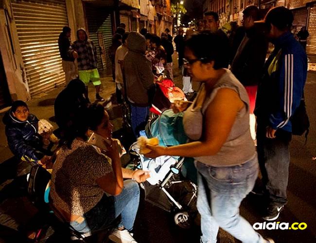 Las autoridades alertaron además sobre una réplica superior a 7 en las próximas horas | AFP