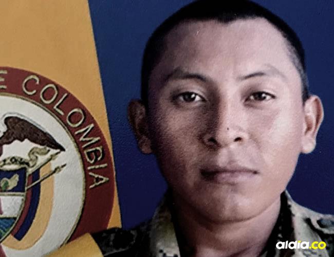 Soldado David Alberto Epiayú Epiayú, de 23 años | Cortesía