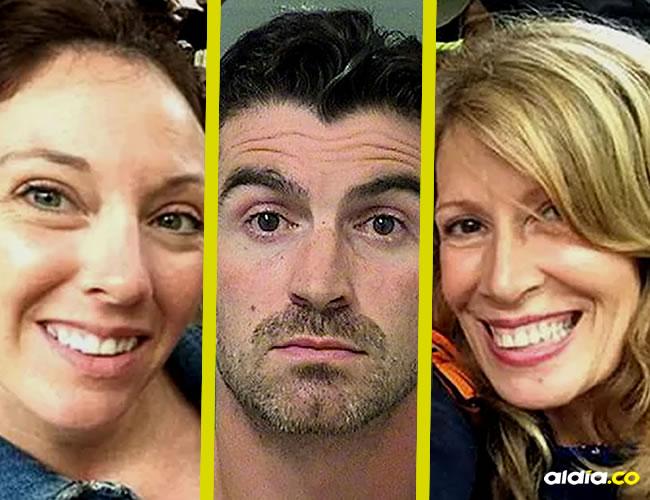 Hannah, Michael Sciarra y Kathleen Davis | Infobae