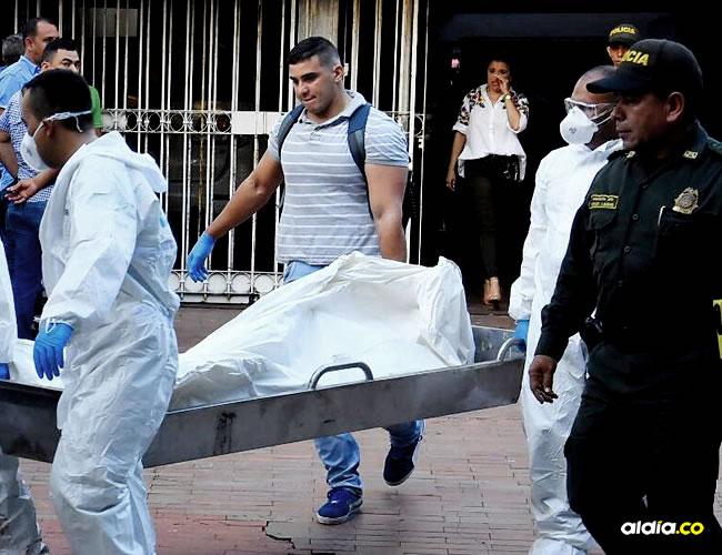 Luis Enrique Lamadrid Blanco se suicidó dentro del baño de su habitación.