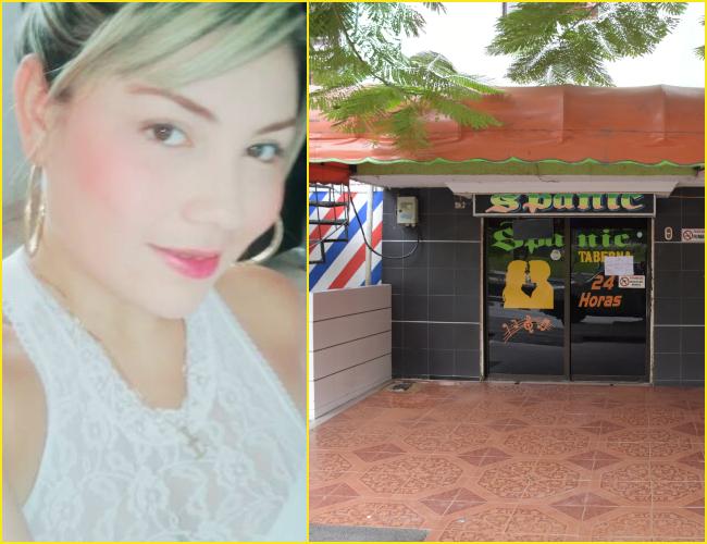 Geraldín Beatriz Olivares Guzmán, joven de 24 años asesinada a bala. El hecho ocurrió en la calle 45 No. 6sur-57, barrio La Ciudadela.